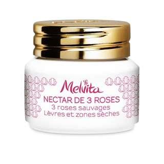5折 Melvita Nectar de 3 Roses SOS Balm for Lips & Dry Area 有機3重玫瑰急救霜 8g