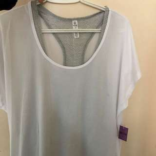 White shirt from ardene