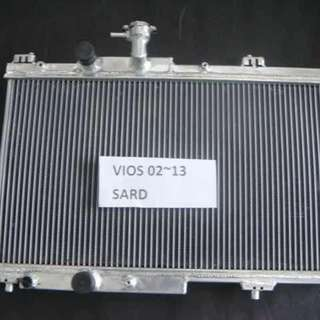 Sard aluminum radiator for toyota vios