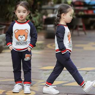 Boys and girls suit jacket skirt children's sweater pants