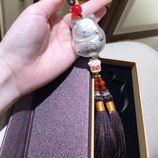 🚚 999足銀 招財貓