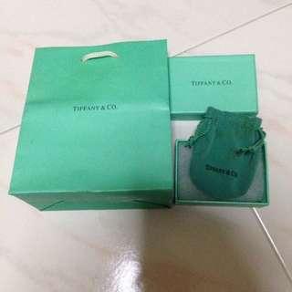 Tiffany & Co Empty Box, Paper Bag