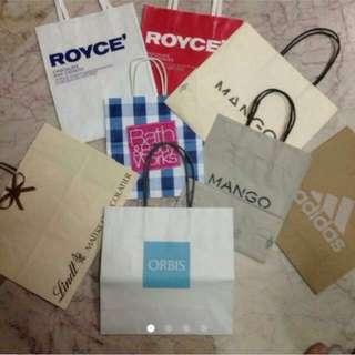 Various Paper Bags(Part 1)