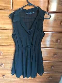 Black dress sz 10