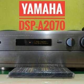 Yamaha DSP-A2070 Lengkap Remot