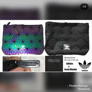 💄 ADIDAS X ISSEY MIYAKE CLUTCH PURSE CARRIER MAKEUP BAG COSMETIC POUCH UA AUTHENTIC SPORT BAG