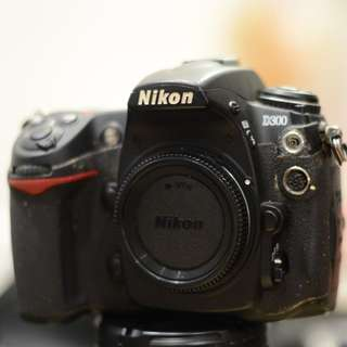 D300 Nikon Body with Battery Grip
