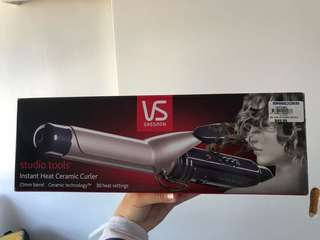 heat ceramic curler