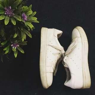 White shoes sneakers kicks