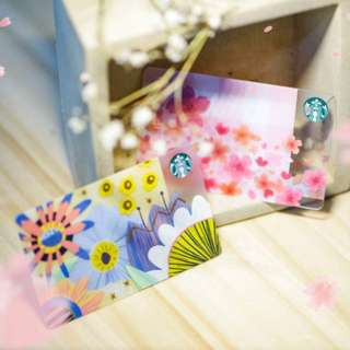 🆕Starbucks® 🇲🇾 Spring Card Set