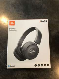 BNIB JBL T460BT WIRELESS BLUETOOTH HEADPHONE