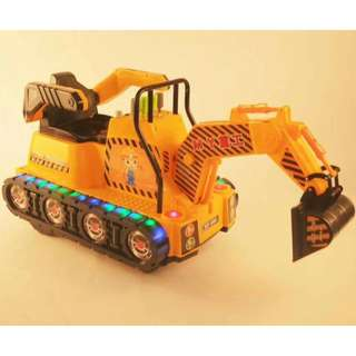 New Excavator Backhoe Crane Ride On Toy Car for Kids