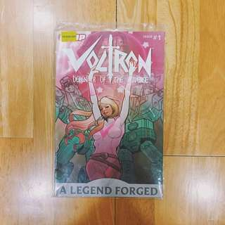 DDP Voltron defender of the universe issue 1
