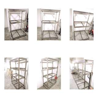 Fish tank  STAINLESS STEEL stand