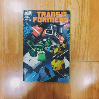 Dreamwave Productions Transformers generation 1 first printing