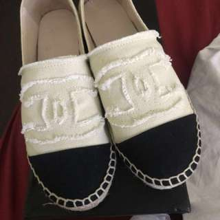Loafers espadrilles cc replica