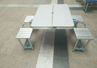 Aluminum Picnic Table P2650
