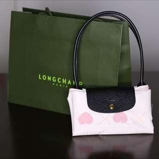 Longchamp Le Pliage St Valentin Tote (small)