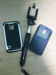 S5 case and monopod #garagesale300