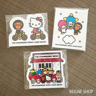 HELLO KITTY MEMO PAD SET