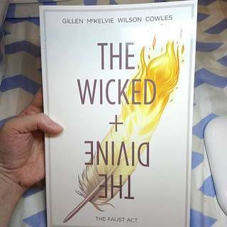 The Wicked + The Divine by Gillen McKelvie Image Comics TPB