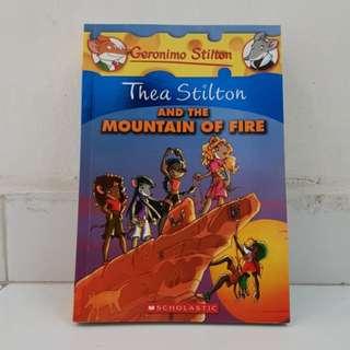 Geronimo Stilton - Thea Stilton & The Mountain of Fire