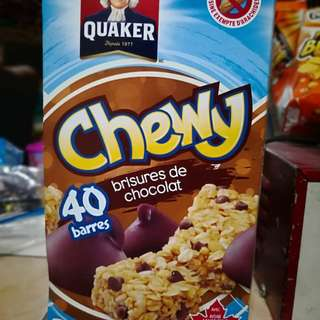 SALE!!! PHP600 FOR THE MONTH OF MAY Quaker chewy chocolate chip granola bar