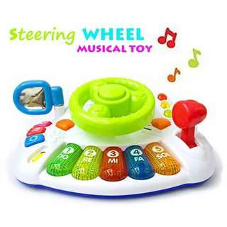 Steering Wheel Musical Toy