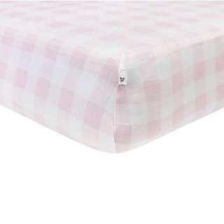 100% Organic Cotton Burt's Bee Baby BEESNUG Fitted Crib Sheet (GOTS Organic)
