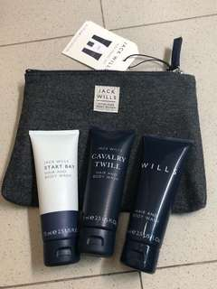 Jack Wills Mini Travel Kit