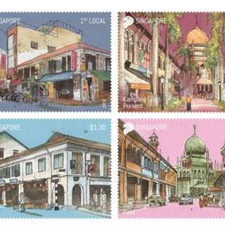 Areas of Historical Significance - Stamp Set
