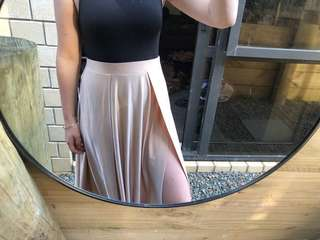 brand new beginning boutique maxi skirt