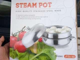 Steam pot 28cm
