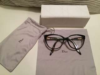 Authentic Christian Dior spectacle frames glasses