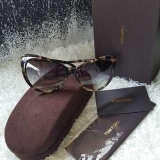 Authentic Tom Ford Sunglasses Luxury Cat Eye Sunglasses Anastasia Brown