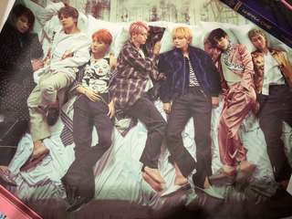 BTS WINGS Album Poster