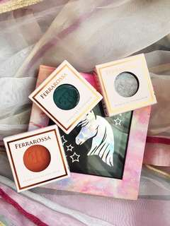 Ferrarossa eyeshadows Unicorn ser