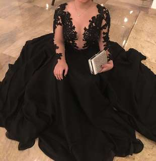For Rent - Sexy Long Gown with Slit