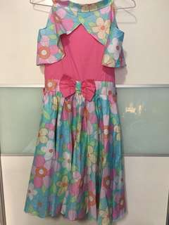 Floral Dress for 7-8 y/o