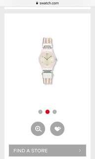 Like New Swatch Pearl Tension (LP123) Bracelet Watch