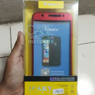 Ipaky Full Case for Samsung J7 Prime Red