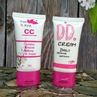Fair n Pink Paket CC Cream dan DD Cream