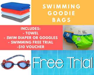 SWIMMING HAMPER - UP TO 70% OFF