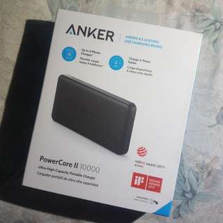 ANKER PowerCore 2 Slim 10,000mah PowerBank