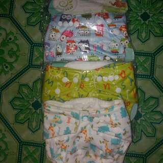 Baby leaf clothe diaper