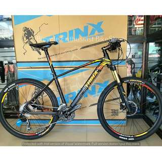 Newest Trinx X7 Ultralight 26 Mountain Bike Bicycle MTB *Shimano Deore Edition* Bicycle Enthusiast BikeShop