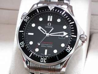 Omega Seamaster black bond calibre 1538 full set