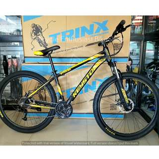Keysto Striker 27.5 Mountain Bike Bicycle MTB Alloy Mechanical Powered by Trinx, Phantom, Keysto Cycle