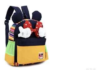 Korean Version of New Children Kid School Backpack Bag