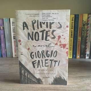 A Pimps Notes by Giorgio Faletti